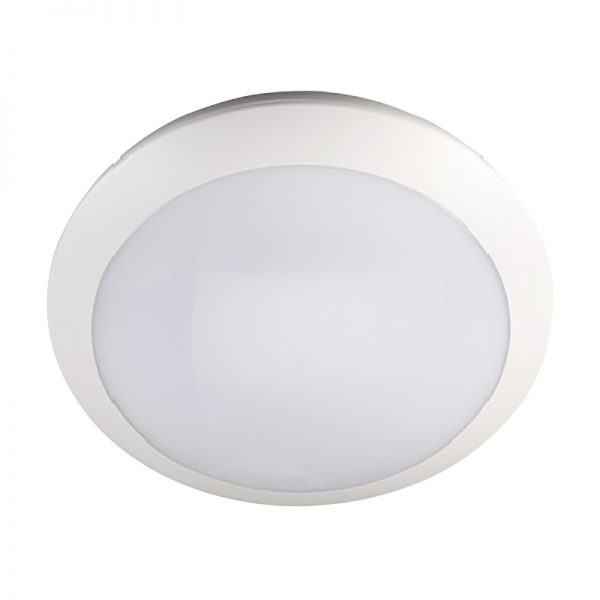 Ensa LOL-A16-WSE 16W LED Intelligent Oyster Light with Backup Battery (3000K)